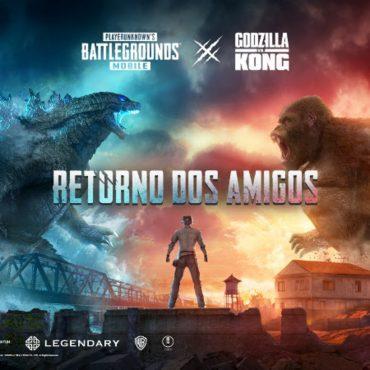 Godzilla vs King Kong Chegaram ao PUBG Mobile